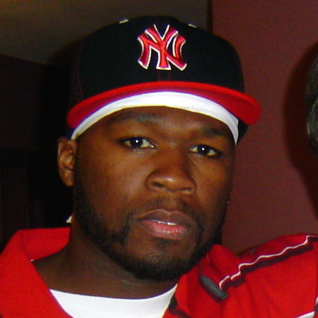 [50 Cent courtesy Wikimedia Commons]