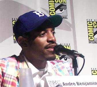 [Andre 3000 courtesy Wikimedia Commons]