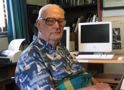 [Arthur C. Clarke courtesy Wikimedia Commons]