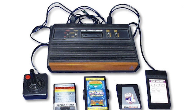 [Atari 2600 courtesy Wikimedia Commons]