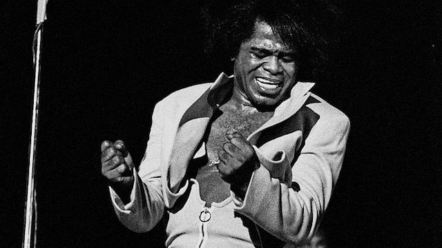 [James Brown courtesy Wikimedia Commons]