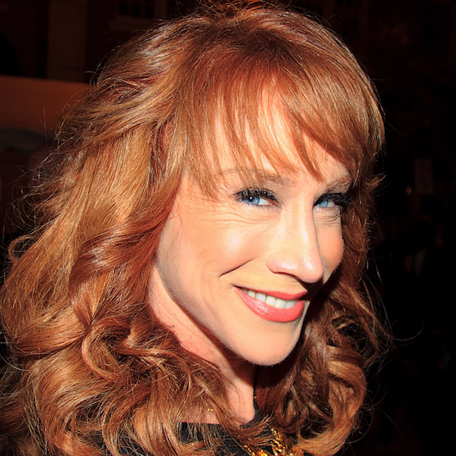 [Kathy Griffin courtesy Wikimedia Commons]