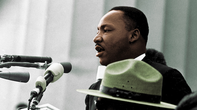 [Martin Luther King Jr. courtesy Wikimedia Commons]