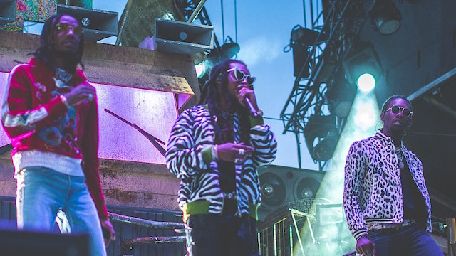 [Migos courtesy The Come Up Show via Wikimedia Commons]