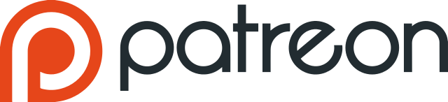 [Patreon logo from Wikimedia Commons]