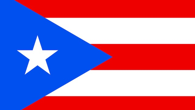 [Puerto Rico courtesy Wikimedia Commons]