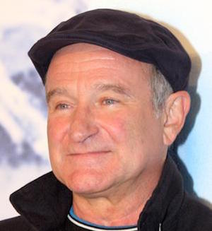 [Robin Williams courtesy Wikimedia Commons]