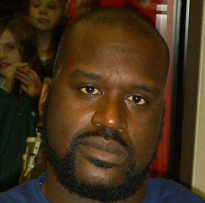 [Shaquille O'Neal courtesy Wikimedia Commons]