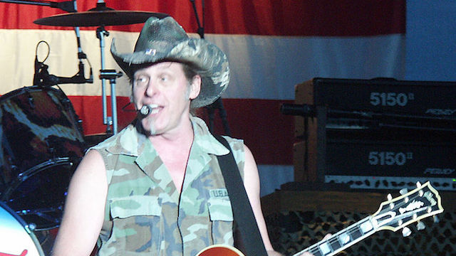 [Ted Nugent courtesy Wikimedia Commons]
