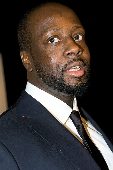 [Wyclef Jean courtesy Seher Sikandar from Wikimedia Commons]