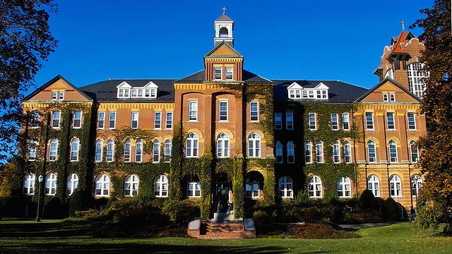[Saint Anselm College courtesy Wikimedia Commons]