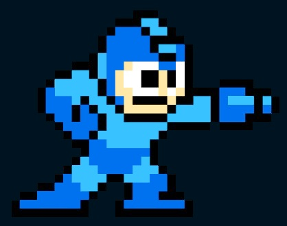 [Mega Man courtesy Capcom with all rights reserved]