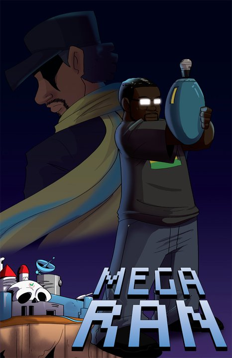 Mega Ran Comic Art