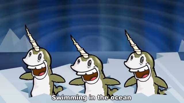 [Narwhals image copyright MrWeebl]