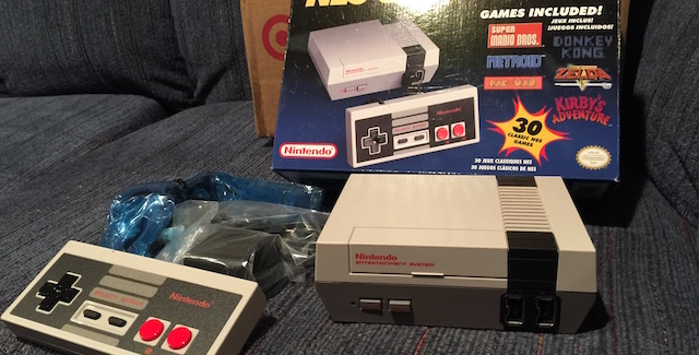 [NES Classic photo courtesy Steve Juon]